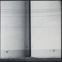Frank Gohlke (American, b. 1942) Grain Elevators, Minneapolis, Series I, 1972 Gelatin silver, 1973