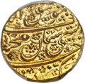 Afghanistan, Afghanistan: Durrani. Mahmud Shah (1st Reign) gold Mohur ND (likely AH 1218 Year 3 / 1805/6) UNC Detail (Edge Repaired) PCGS,...