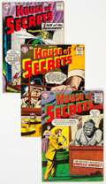 Silver Age (1956-1969):Horror, House of Secrets Group of 9 (DC, 1958-59) Condition: Average VG/FN.... (Total: 9 Comic Books)