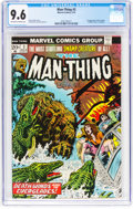 Bronze Age (1970-1979):Horror, Man-Thing #3 (Marvel, 1974) CGC NM+ 9.6 Off-white to white pages....