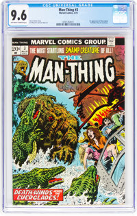 Man-Thing #3 (Marvel, 1974) CGC NM+ 9.6 Off-white to white pages