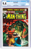 Bronze Age (1970-1979):Superhero, Man-Thing #4 (Marvel, 1974) CGC NM 9.4 Off-white to white pages....