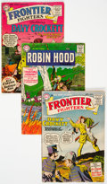 Silver Age (1956-1969):Adventure, Frontier Fighters/Robin Hood Tales Group of 7 (DC, 1955-57) Condition: Average GD/VG.... (Total: 7 )