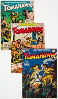 Golden Age (1938-1955):Western, Tomahawk/Western Comics Group of 7 (DC, 1950-60) Condition: Average GD/VG.... (Total: 7 )