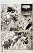 Original Comic Art:Panel Pages, Gene Colan and Dave Simons Howard the Duck Magazine #2 StoryPage 27 Original Art (Marvel, 1979)....