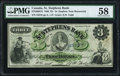 Canadian Currency, St. Stephen, NB- St. Stephens Bank $3 1.2.1886 Ch.# 675-20-04-18PMG Choice About Unc 58.. ...