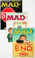 Magazines:Mad, MAD Group of 10 (EC, 1958-60) Condition: Average FN.... (Total: 10Comic Books)