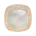 Estate Jewelry:Rings, Diamond, Mother-of-Pearl, Rose Gold Ring, Roberto Coin...