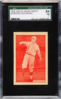 Baseball Cards:Singles (1930-1939), 1933 Uncle Jacks Candy Mickey Cochrane SGC 84 NM 7 - Pop Two, One Higher. ...