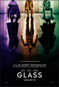 """Movie Posters:Thriller, Glass (Universal, 2019). Rolled, Very Fine+. One Sheet (27"""" X 40"""")DS Teaser. Thriller.. ..."""