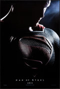 """Movie Posters:Action, Man of Steel (Warner Brothers, 2013). Rolled, Very Fine+. One Sheet(27"""" X 40"""") DS Teaser. Action.. ..."""