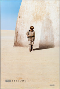 "Star Wars: Episode I - The Phantom Menace (20th Century Fox, 1999). Rolled, Near Mint. One Sheet (26.75"" X 39.75&qu..."