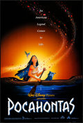 """Movie Posters:Animation, Pocahontas (Buena Vista, 1995). Rolled, Very Fine+. One Sheet (27""""X 40"""") SS, Advance. Animation.. ..."""
