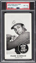 Baseball Cards:Singles (1950-1959), 1959 Home Run Derby Frank Robinson PSA NM-MT 8 - Pop One, The Highest Graded Card In The Hobby! ...