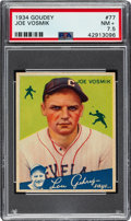 Baseball Cards:Singles (1930-1939), 1934 Goudey Joe Vosmik #77 PSA NM+ 7.5....