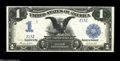 Large Size:Silver Certificates, Fr. 233 $1 1899 Silver Certificate Very Choice New....