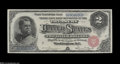 Large Size:Silver Certificates, Fr. 241 $2 1886 Silver Certificate Superb Gem New....