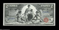 Large Size:Silver Certificates, Fr. 247 $2 1896 Silver Certificate Superb Gem New....