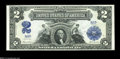 Large Size:Silver Certificates, Fr. 256 $2 1899 Silver Certificate Superb Gem New....