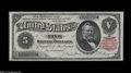 Large Size:Silver Certificates, Fr. 267 $5 1891 Silver Certificate Gem New....