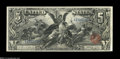 Large Size:Silver Certificates, Fr. 268 $5 1896 Silver Certificate Choice Extremely Fine....