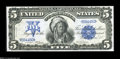 Large Size:Silver Certificates, Fr. 271 $5 1899 Silver Certificate Gem New....