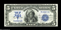 Large Size:Silver Certificates, Fr. 277 $5 1899 Silver Certificate Star Note Gem New....
