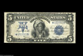 Large Size:Silver Certificates, Fr. 281 $5 1899 Silver Certificate Star Note Choice Very Fine....