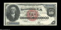 Large Size:Silver Certificates, Fr. 290 $10 1880 Silver Certificate Choice About New....