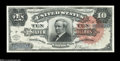 Large Size:Silver Certificates, Fr. 294 $10 1886 Silver Certificate About New....