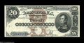 Large Size:Silver Certificates, Fr. 311 $20 1880 Silver Certificate Choice Extremely Fine....