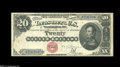 Large Size:Silver Certificates, Fr. 312 $20 1880 Silver Certificate Choice Very Fine....