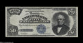 Large Size:Silver Certificates, Fr. 335 $50 1891 Silver Certificate Choice Very Fine. This ...