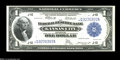 Fr. 739 $1 1918 Federal Reserve Bank Note Gem New. A beautifully centered, fully bright, well embossed strictly original...
