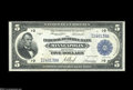 Fr. 799 $5 1918 Federal Reserve Bank Note Extremely Fine. About 50 examples are known of this number, which was the only...