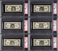 Baseball Cards:Sets, 1962 Topps Bucks Baseball Complete Set (96)....