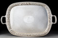 Silver & Vertu, An A.G. Schultz & Co. Repoussé Silver Tray, Baltimore, Maryland, circa 1920. Marks: STERLING, (hand-MADE). 19 x 29-1/2 i...