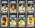 Baseball Cards:Lots, 1952 Topps Baseball Collection (586)....