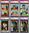 Baseball Cards:Lots, 1954 and 1955 Bowman Baseball Collection (420)....