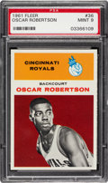 Basketball Cards:Singles (Pre-1970), 1961 Fleer Oscar Robertson #36 PSA Mint 9 - Only One Higher....