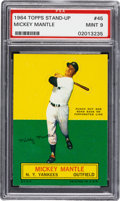 Baseball Cards:Singles (1960-1969), 1964 Topps Stand Up Mickey Mantle PSA Mint 9 - None Higher....