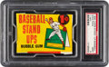 Baseball Cards:Unopened Packs/Display Boxes, 1964 Topps Baseball Stand-Up 1-Cent Unopened Wax Pack PSA Mint 9....
