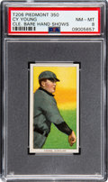 Baseball Cards:Singles (Pre-1930), 1909-11 T206 Piedmont 350 Cy Young (Hand Shows) PSA NM-MT 8. ...