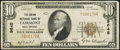 National Bank Notes:West Virginia, Fairmont, WV - $10 1929 Ty. 1 The Union NB Ch. # 9645 Fine.. ...