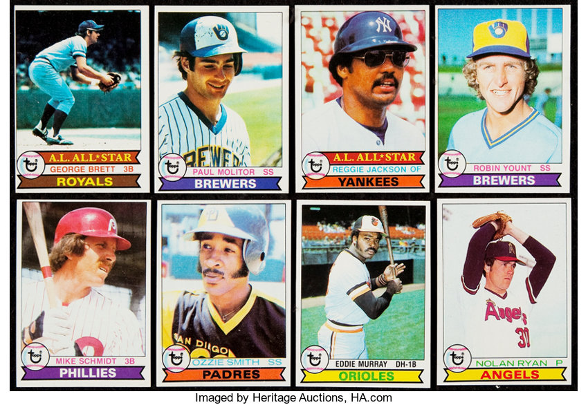 1979 Topps Baseball Complete Set 726 Baseball Cards