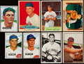Baseball Cards:Lots, 1950-55 Bowman Baseball Collection (94) Plus Red Heart (3). ...