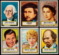 Baseball Cards:Sets, 1952 Topps Look-N-See Complete Set (135). ...