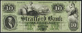 Obsoletes By State:New Hampshire, Dover, NH- Strafford Bank $10 18__ Remainder Choice Crisp Uncirculated.. ...