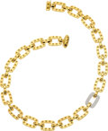 Estate Jewelry:Necklaces, Diamond, Gold Necklace, Roberto Coin. ...