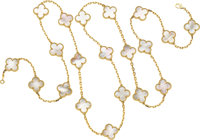 Mother-of-Pearl, Gold Necklace, Van Cleef & Arpels, French